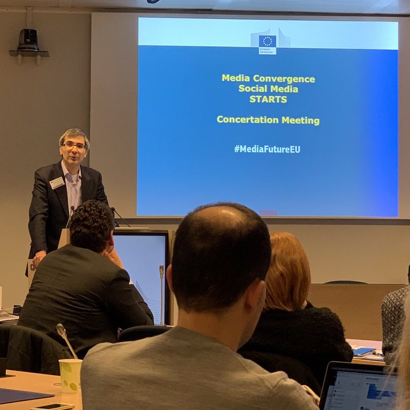 Concertation Meeting for Future European Media 2019